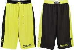 Spalding Essential Reversible Short Black/Neon Yellow