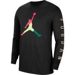 Jordan Long Sleeve Shirt Black