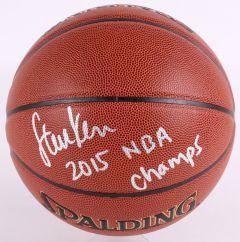 Gesigneerde Basketball Warriors / Steve Kerr