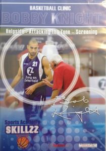 DVD - Bobby Knight Helpside - Attacking the Zone - Screening