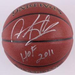 Gesigneerde Basketball Chicago Bulls / Dennis Rodman